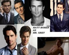 Christian Grey... If this doesn't happen I'll be very disappointed!!