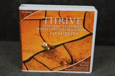THRIVE Learning to thrive when you're struggling to survive Tuttle ministries Self Help, Ministry, Audiobooks, Survival, Relationship, Learning, Ebay, Study, Teaching