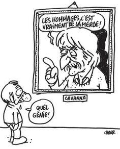 Les dessinateurs de Charlie Hebdo rendent hommage au père fondateur.