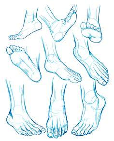 FEET sketches by Washu-M