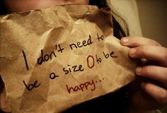 .....or a size 2,4,6,8,10,12,14,16,18 or any other size. Be happy if you are a size 0 or a size 32w.