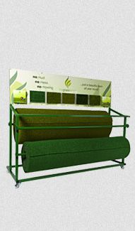 Horizontal display stand for artificial grass dealers that holds stock Fake Lawn, Fake Grass, Display, Furniture, Home Decor, Floor Space, Decoration Home, Billboard, Room Decor