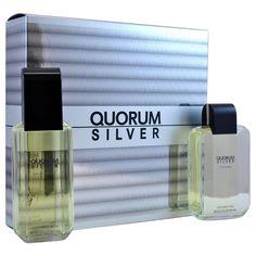 Antonio Puig Quorum Silver Men's 2-piece Fragrance Set (1)
