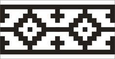 "Guardas aborígenes - ""Guarda pampa"", aborigen argentina Porton Artesano Stencil Templates, Stencil Patterns, Stencil Designs, Paint Designs, Seed Bead Patterns, Tribal Patterns, Beading Patterns, Gaucho, Shape Poems"