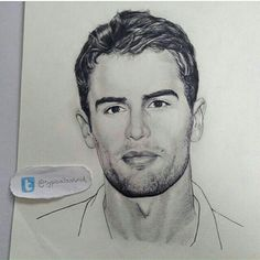 The hottest most realistic drawing of Theo I have ever seen in my life