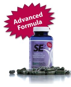 Stemtech's SE2® is the world's first all-natural supplement documented to support the release of adult stem cells from bone marrow. Our advanced supplement puts more stem cells in the bloodstream, and the effect lasts longer.