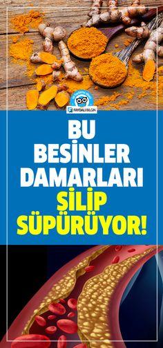Tıkanan Damarları Açan Besinler Foods Opening Clogged Vessels the the the Type 1 Diabetes, Turkish Recipes, Alternative Medicine, Natural Remedies, Detox, Health Fitness, Food And Drink, Abs, Healthy