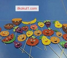 yerli-mali-haftasi-2016-2017-ilkokul1com-4 New Year's Crafts, Diy And Crafts, Crafts For Kids, Arts And Crafts, Classroom Activities, Toddler Activities, Fruit Crafts, Shape Puzzles, Art N Craft