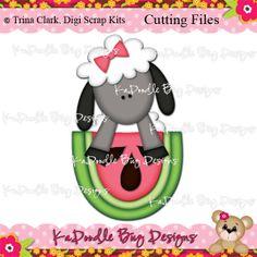 Cutting Files Artwork by Trina Clark www.kadoodlebugdesigns.com