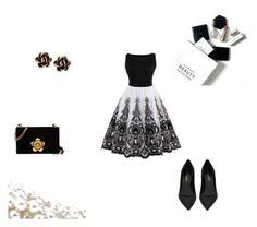 """Elegance"" by elena-maharea on Polyvore featuring Yves Saint Laurent, Prada, Chantecler, H&M and party"