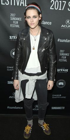 Stars Bundle Up in Style at the 2017 Sundance Film Festival - Kristen Stewart from InStyle.com