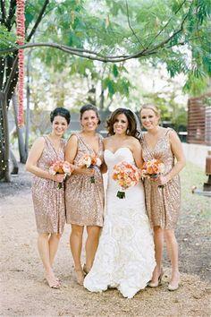 Wishesbridal Gold #Satin V Neck Knee Length Sheath Column #Bridesmaid Dress B1wb0033
