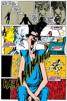 The New Mutants N°26 (1985) - Art by Bill Sienkiewicz - Color by Glynis Wein - Legion makes his first appearance