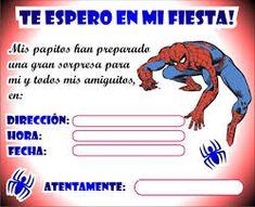 Ramirez y Miguel David Mastodonte Spider Man Party, Spiderman Invitation, Board For Kids, Ideas Para Fiestas, Pinterest Blog, Holidays And Events, Party Invitations, Birthdays, Happy Birthday