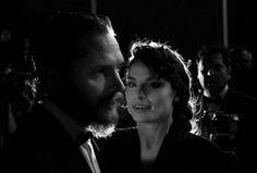 Tom Hardy & Charlotte Riley - Cannes 2012
