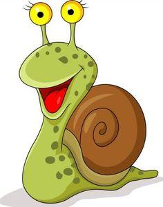 Snail Cartoon, Cartoon Pics, Cute Cartoon, Painted Pavers, Painted Rocks, Art Drawings For Kids, Animal Drawings, Vogel Quilt