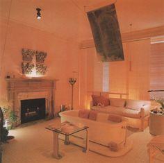 "palmandlaser: ""From Bath Design "" Retro Home Decor, Vintage Decor, Bleached Wood, 80s Design, Retro Bathrooms, Retro Furniture, Retro Aesthetic, Bath Design, Interior Design"