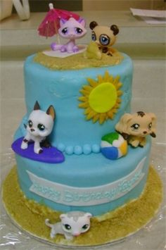 I want to help you create a Littlest Pet Shop Birthday Party Theme. Kids seem to loves these Bobble Head Animals so why not have a party based...