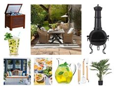 (This post contains ads/affiliate links) Summer Dining by gothicvamperstein featuring Kikkerland Williams Sonoma outside pati. Interior Decorating, Interior Design, Williams Sonoma, Patio, Dining, Luigi, Lifestyle Blog, Outdoor Decor, Summer