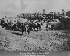 End Of The Line. History of Buford Wyoming....