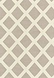Stafford Diamond in Pewter from Schumacher  great fabric/pattern