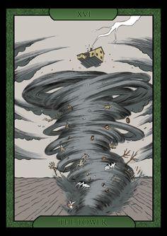 The Shadow of Oz Tarot