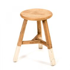 Beautifully repurposing FSC-certified reclaimed timbers and delicately distressed metals, the Vintage collection's charming assortment of occasional pieces proudly sports natural grain and patina for a rustic addition to your decor. Small Stool, Round Stool, Reclaimed Timber, Sit Back And Relax, Bar Stools, Dining Bench, Repurposed, Rustic, Chair