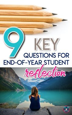 End-of-year reflecting is extremely important. These 8 student reflection questions are imperative for continued growth moving forward. Middle School Writing, Middle School Teachers, End Of School Year, High School, Brain Based Learning, Reflection Questions, Student, This Or That Questions, Language Arts