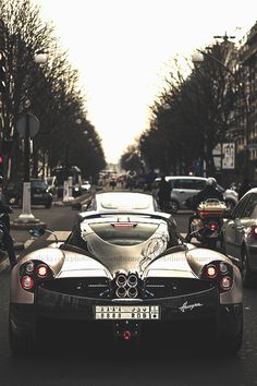 Pagani Huayra. That is one fast car.