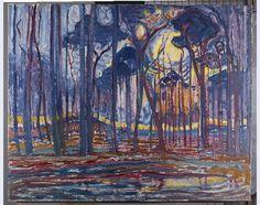 Piet Mondriaan in het Haags Gemeentemuseum