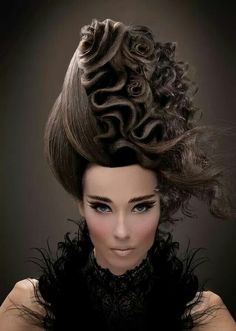 Best Huge Avant Garde Hair Styles That Are Absolutely Sensational – ZygoStyle Creative Hairstyles, Up Hairstyles, Avant Garde Hairstyles, Fantasy Hairstyles, Hairstyle Ideas, Hair Rainbow, Wig Styling, Fashion Show Makeup, Extreme Hair