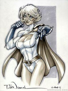 Powergirl by Todd Nauck