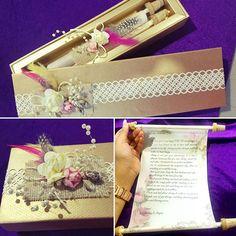 Anniversary note✉️ #handmade #gift #special #boho #letter #scroll #box #customised #theme #vintage #weddingcard #giftcard #loveletter #multipurpose #socute #sochic #sovintage #love #designs #smartworkdesignco