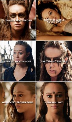 Lexa deserved better and we miss her dearly. #Stillcrying.