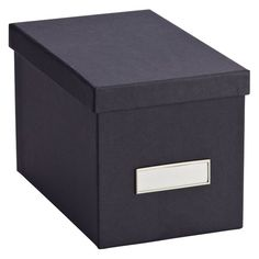 Bigso™ Stockholm CD Box Graphite ***hold 40 in paper sleeves