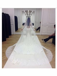 The Most Stunning Celebrity Wedding Dresses of 2014 - Elle #myweddingnow.com #myweddingnow #Top_wedding_dress #wedding_dress_Ideas #smart_wedding_dress #cute_wedding_dress #easy wedding_dress