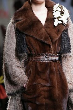 Fendi Fall/Winter 2014-15 Collection Close Up