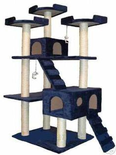 Pet owner's paradise. Grooming, information, and pet supplies for dogs, cats, small animals, birds and more. A great blog post about how a simple cat condo can help make your cat happier and help meet their needs and even how to make your own cat condo.