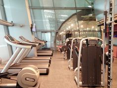 Regular exercise can make you more aerobically fit as you grow older. Visit us at #Vitality and enjoy our gym!