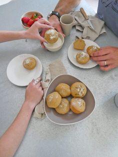 Muffin sans gluten à l'huile d'olive, au jus et zestes d'agrumes