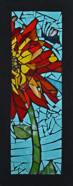 'Lola' Artist: Anne Marie Price - 2014 International Mosaic Auction benefit for Doctors Without Borders / Médecins Sans Frontières (MSF) will be held online at BiddingForGood.com/DWB-MSF/2014MosaicAuction - Auction opens November 22 – Auction closes December 6