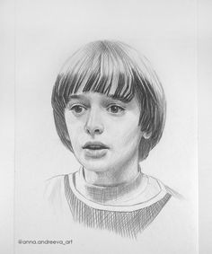 Things Gorgeous Fan Art From 21 Artists Stranger Things Pencil Drawing Fan Art of Will by Anna Andreeva. Pencil Portrait Drawing of a Boy.Stranger Things Pencil Drawing Fan Art of Will by Anna Andreeva. Pencil Portrait Drawing of a Boy. Stranger Things Characters, Stranger Things Quote, Stranger Things Steve, Stranger Things Aesthetic, Funny Drawings, Pencil Drawings, Art Drawings, Portrait Sketches, Pencil Portrait
