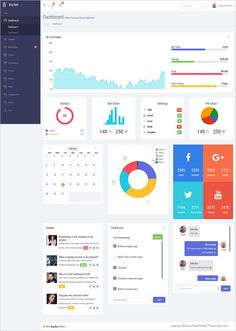 Beast - Responsive Admin Dashboard Template | More Dashboard ...