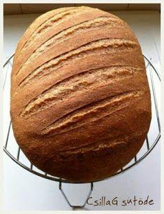 CsillaG sütöde: Teljes kiőrlésű kenyér - a kedvencem How To Make Bread, Paleo, Baked Potato, Baking, Ethnic Recipes, Baguette, Food, Diet, How To Bake Bread