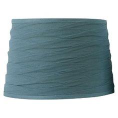 Threshold™ Linen Overlay Lamp Shade - Blue Medium