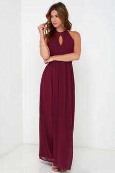 Ooh Gala-La Ivory Maxi Dress at Lulus.com!