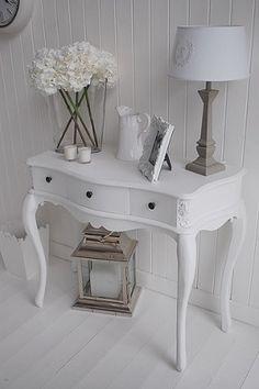 Banco viena branco 47 x 37 x 49 cm a loja do gato preto - Provence mobiliario ...