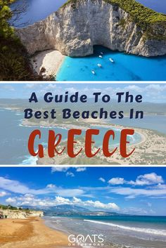 Essential Guide To The Most Stunning Beaches On The Greek Islands | Greece Travel Tips | Awesome Places In Europe | #greecevacation #beautifulplaces #greekislands #paradisedestinations World Travel Guide, Travel Tips, Travel Destinations, Travel Advice, Travel Guides, Greece Vacation, Greece Travel, Dubrovnik, Montenegro