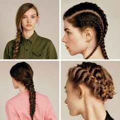 Beautiful braids from TopShop Bar