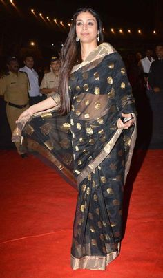 Tabu at Umang 2014 show. #Style #Bollywood #Fashion #Beauty